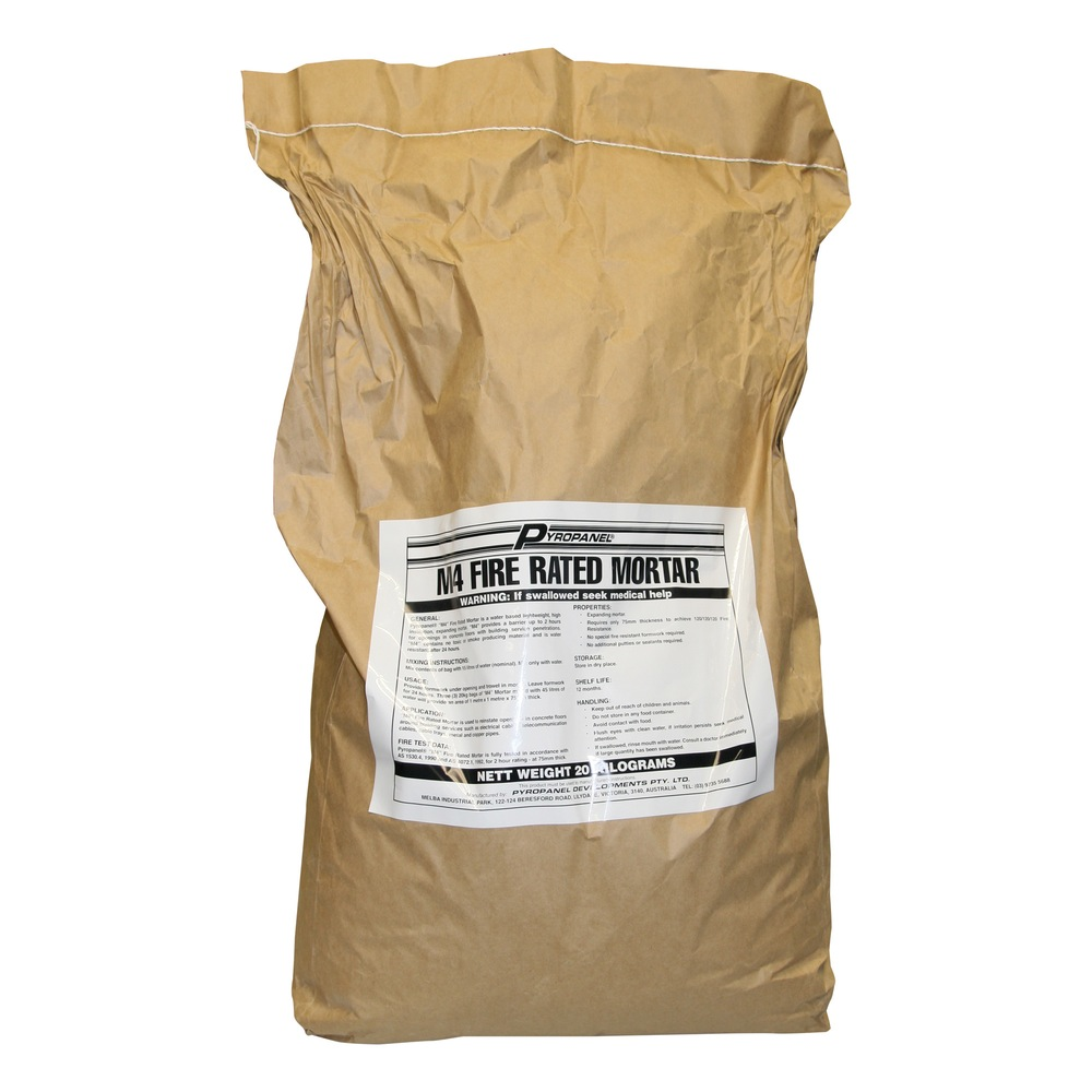 Sika Fire Rated Mortar Mix : Blank template